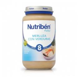 NUTRIBEN MERLUZA CON VERDURAS 250 gr