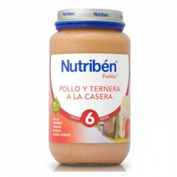NUTRIBEN POLLO Y TERNERA A LA CASERA 250 gr