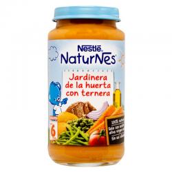 NESTLE NATURNES JARDINERA DE LA HUERTA CON TERNERA - 250 gr