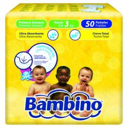 BAMBINO PRIMERAS SEMANAS (PREMATUROS Y HASTA 3kg) 50ud
