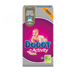 DODOT ACTIVITY T-3 (4-10 KG) 56 ud