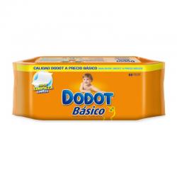 TOALLITAS HUMEDAS DODOT BASICO 60 ud