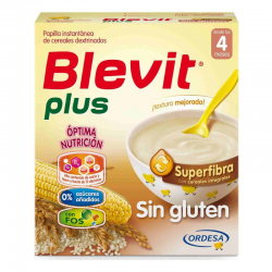 BLEVIT PLUS CEREALES SIN GLUTEN SUPERFIBRA 600 gr