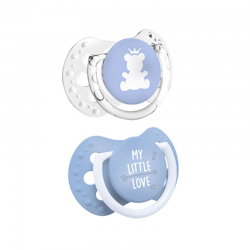 CHUPETE LOVI MY LITTLE LOVE AZUL 2uds 0-2 m
