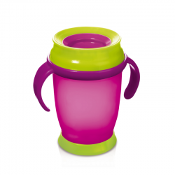 TAZA CUP 360 MAGENTA LOVI 210 ml
