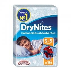 HUGGIES DRY NITES NIÑOS 3-5 años (16-23 KG) 16 ud