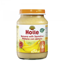 HOLLE TARRITO PLATANO CON SEMOLA 190 gr