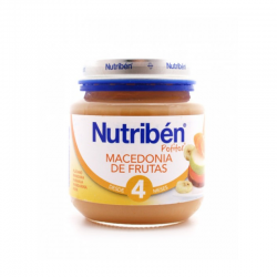 NUTRIBEN MACEDONIA DE FRUTAS 130 gr