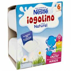 NESTLE IOGOLINO NATURAL 4x100 gr