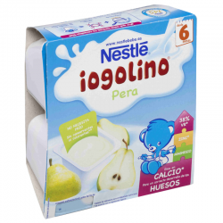 NESTLE IOGOLINO PERA 4x100 gr