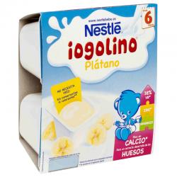NESTLE IOGOLINO PLATANO 4x100 gr