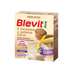 BLEVIT DUPLO 8 CEREALES CON GALLETA MARIA 600 gr