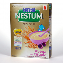 NESTLE NESTUM AVENA CON CIRUELAS 250 gr